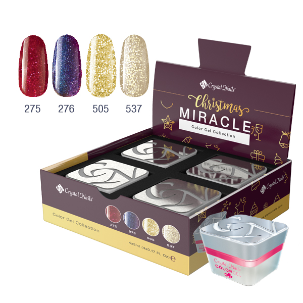 Christmas Miracle Color gel set 3+1