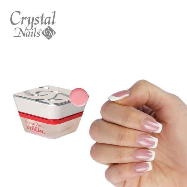 Crystal Nails Transparentni Rozi gelovi