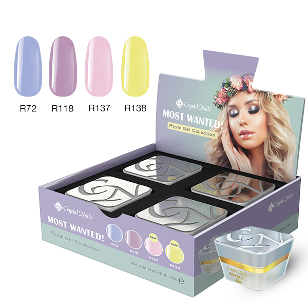 Color Royal Most wanted! Spring/Summer 2019 (4×4,5ml)