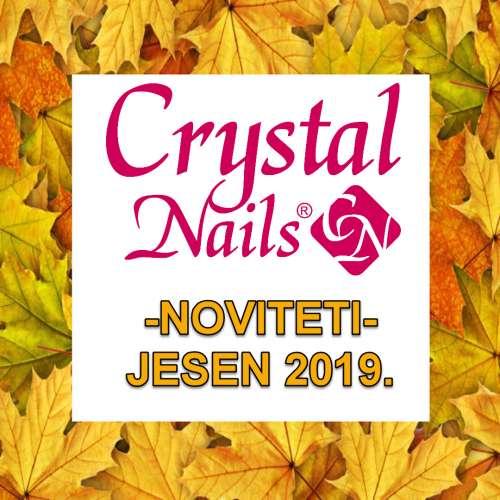 CrystalNails NOVO! JESEN 2019