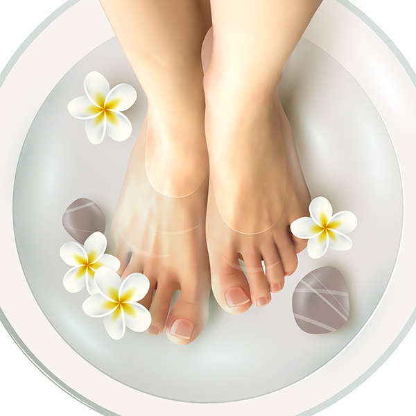 Pedicure Spa Illustration