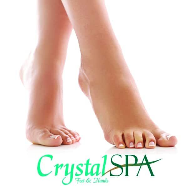 Crystal SPA početni set za estetsku pedikuru