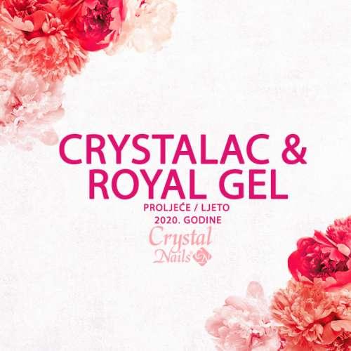 CrystaLac & Royal Gel - proljeće/ljeto 2020