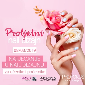 Natjecanje Proljetni nail dizajn - Profokus